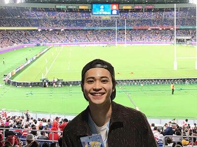 日本のラグビーの、歴史的な瞬間に立ち会ってしまいました!
