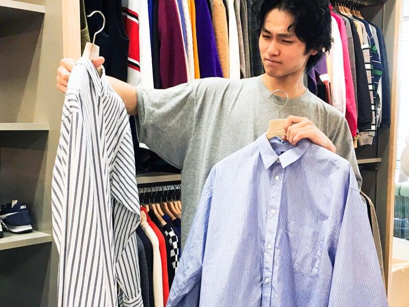 ストライプシャツ選びで迷いに迷った、中川大輔の結論。