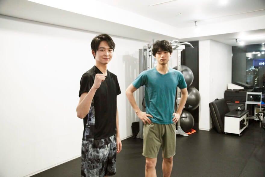 第11回:柔軟&筋トレ② 中川をフォローしきれない鈴木
