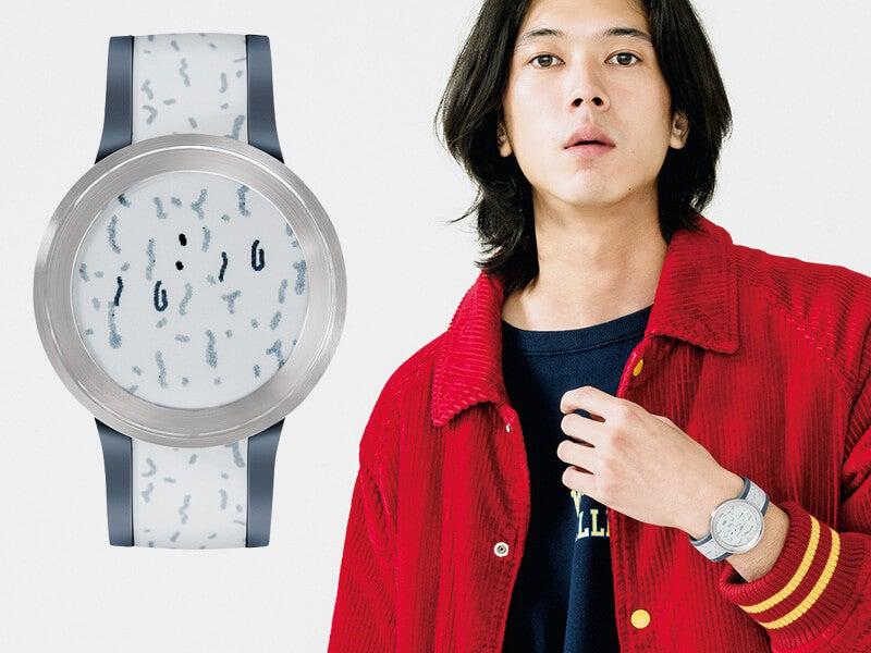 文字盤&ベルトを着替えられる時計を、メンズノンノモデルがデザイン!
