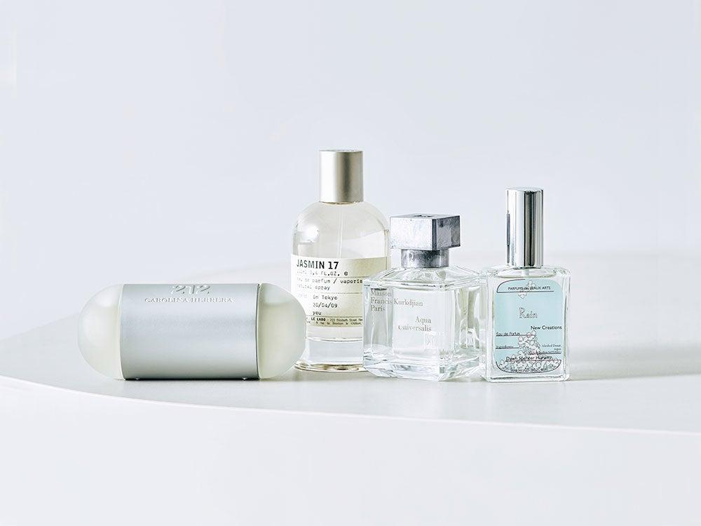 香りタイプ別香水カタログ① 清潔感のあるサボン系から。お試しコメントつき