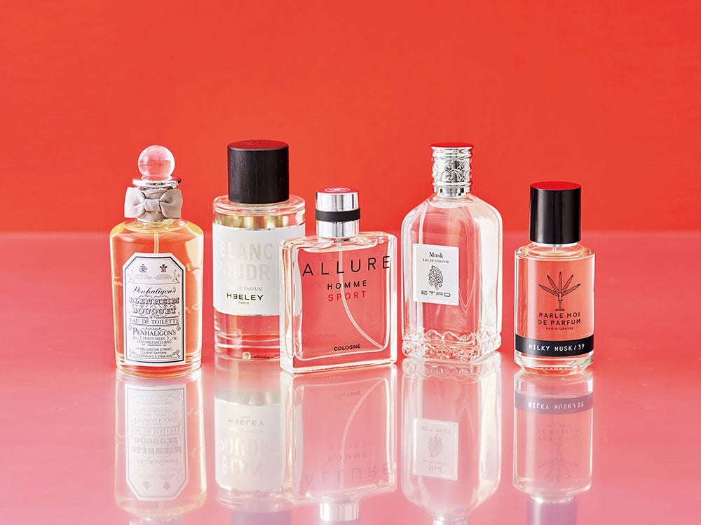 タイプ別・香水カタログ③ ムスク系は色気を感じる大人の香り。お試しコメントも