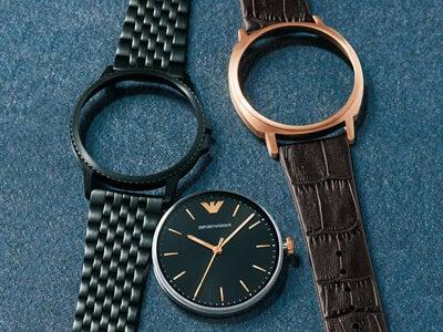 斬新な2WAYにペアウオッチ。エンポリオ アルマーニの新しい腕時計