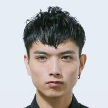 サロン/LOAVE OMOTESANDO(担当 NOBUKIYOさん)モデル/深水光太さん