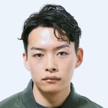 サロン/S.HAIR SALON(担当 横井七恵さん)モデル/惣田教平さん