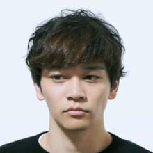 サロン/BRIDGE(担当 大平秀剛さん)モデル/近藤勇磨さん