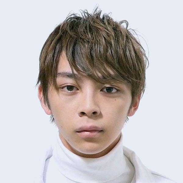サロン/broocH(担当 矢部壮大さん)モデル/谷口優斗さん