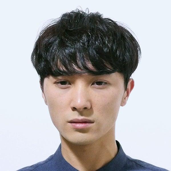 サロン/BRIDGE(担当 コカブミノルさん)モデル/宮石憲作さん