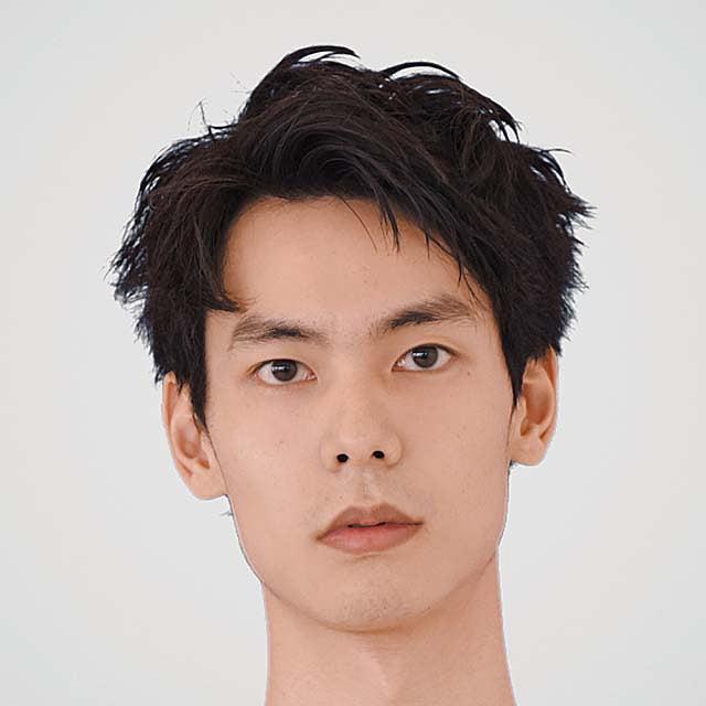 サロン/traffic hair design モデル/岩岡将宏さん