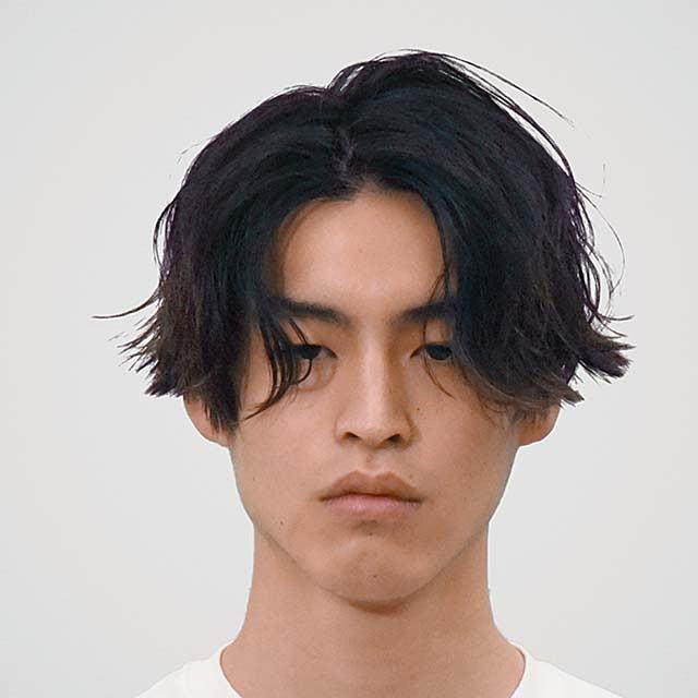 サロン/koti BY bröocH モデル/福島理久さん
