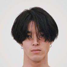 サロン/kilico. モデル/田村雄治さん