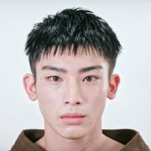 RUNO モデル/磯野駿英瑠さん(2020年2月号)