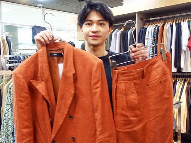 おしゃれ番長・中田圭祐がセットアップとブーツを選んだ理由は?