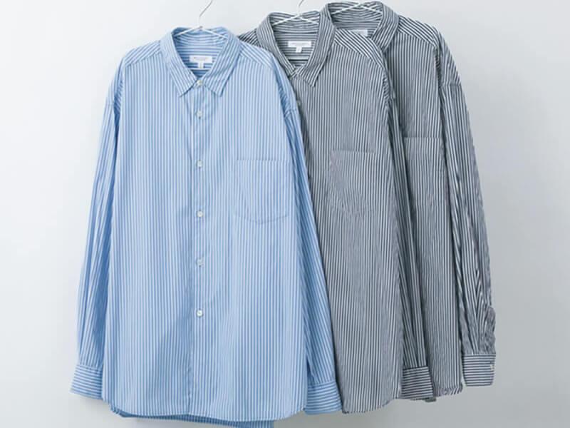 カラバリで欲しい! ラフに着てもきちんと見える名品ストライプシャツ