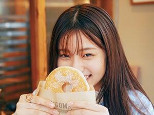 吉川 愛さんと〝ドーナツ〟デート。揚げたてふわふわが人気の名店へ