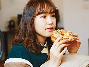 尾碕真花さんと〝ドーナツ〟デート。キャラメル&アーモンドが絶品の味!