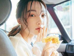 新野尾七奈さんと〝ドーナツ〟デート。蒸して作るスチームドーナツの味は?