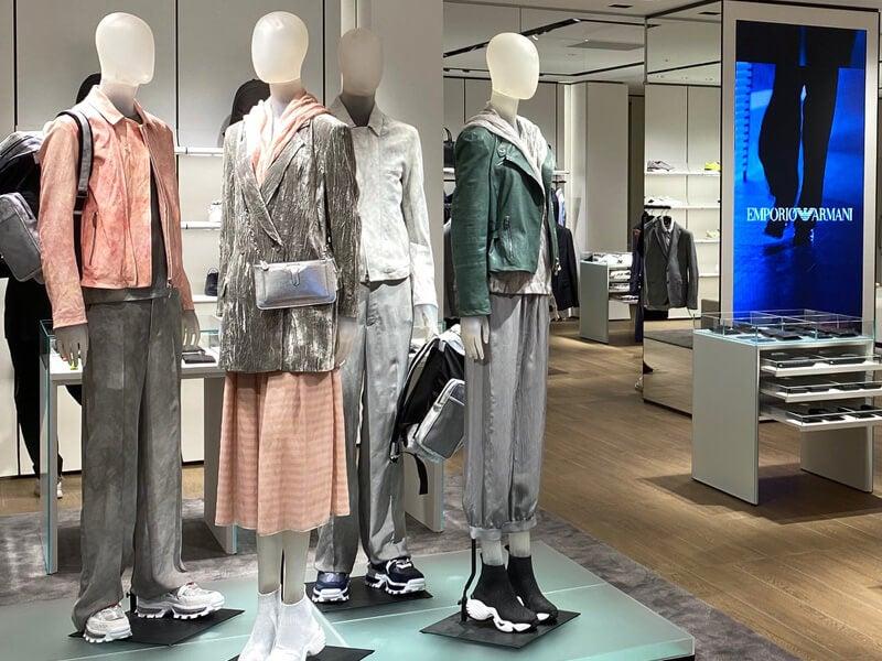 新装開店「エンポリオ アルマーニ 新宿店」はどこが変わった?