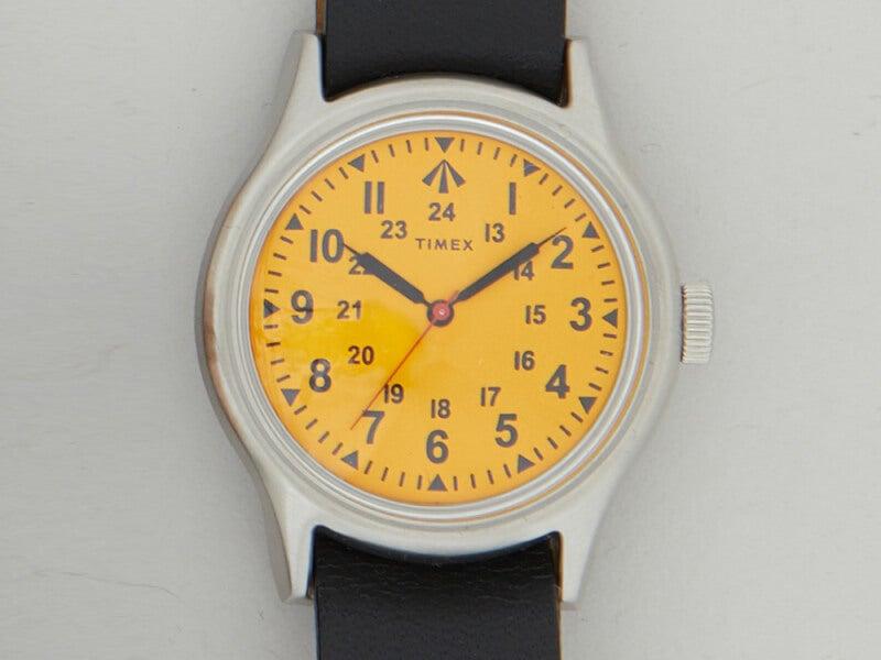 ナイジェル・ケーボン×タイメックスの新作コラボ時計はイエローが鮮烈!