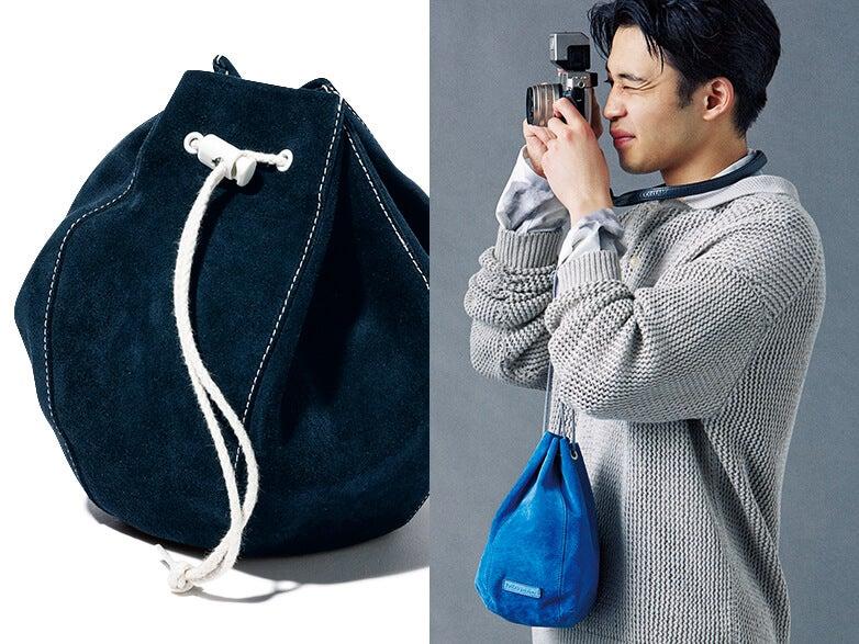 今買うべきスモールバッグは? 懐かしくて新しい巾着バッグに注目せよ!