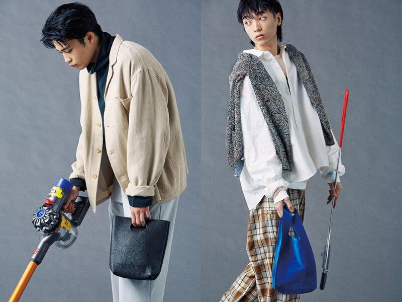 レジ袋は不要? ショッパー風デザインのスモールバッグを買わないと!