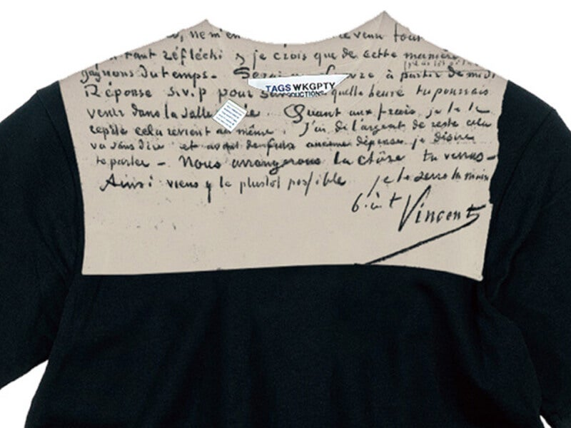 実弟・テオ宛ての手紙がTシャツに!「ゴッホ美術館」が魂のコラボ