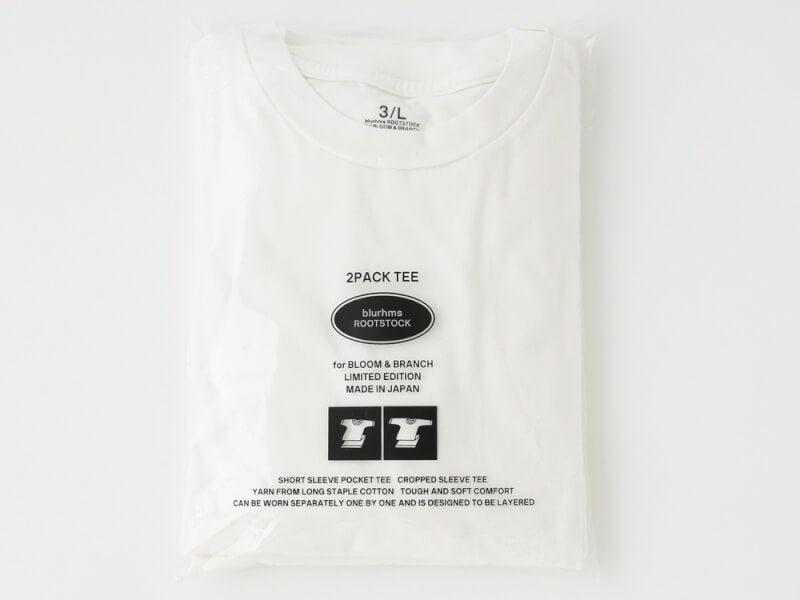 2枚重ね提案!「ブラームス ルーツストック」のパックTシャツ