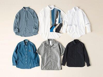 2枚目以降に欲しい! 存在感のあるシャツ6選