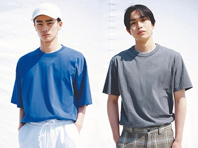 ユニクロ ユーの新作も! 素肌に着て気持ちいい無地Tシャツ6選