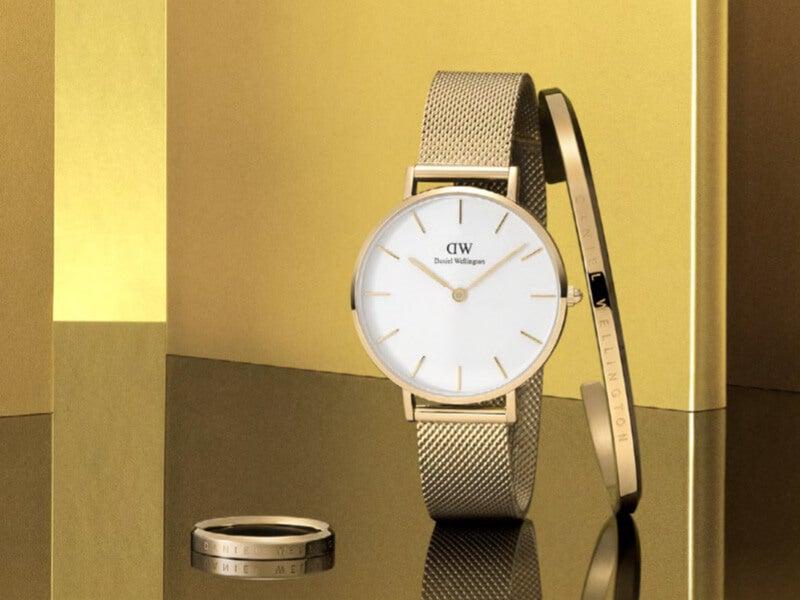 夏の白Tコーデにゴールドが映える!「ダニエル ウェリントン」新作時計