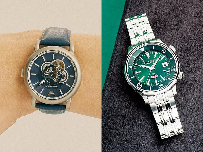 カッコいい大人になれる機械式時計。人気ブランドで買う5万円以下の6選