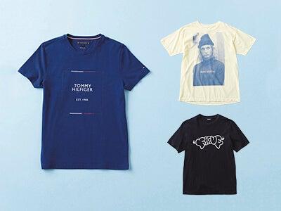 夏はコレ1枚でおしゃれコーデに! 目立てるプリントTシャツ9選