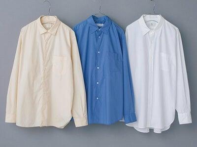 日本人の体型に合う!年中着られるジャパンブランドのこだわりシャツ3選