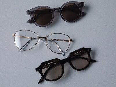 夏のおしゃれに欠かせないスタイリッシュなメガネ&サングラス3選