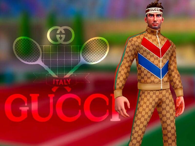 オンラインゲームと異業種コラボ!「グッチ」のテニス大会に参加しよう