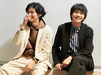 清原 翔と中田圭祐が「メゾンスペシャル」青山店でコーデ対決!