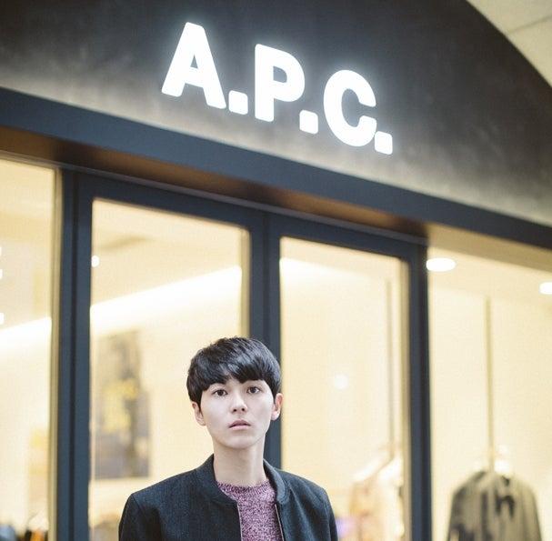 リニューアルした「A.P.C. KYOTO」にメンズノンノモデル三宅が行ってきた!