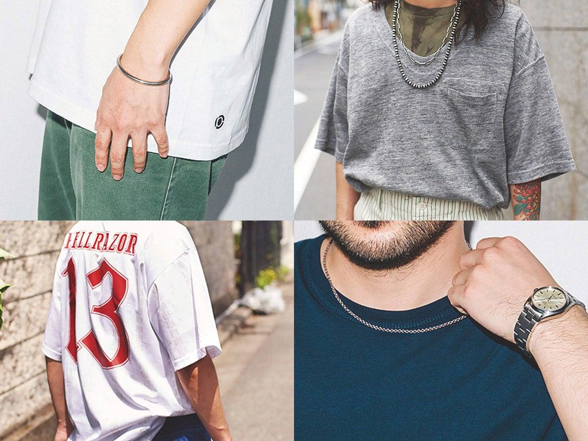 「Tシャツ」が主役! おしゃれプロ4人の真夏の着こなしスナップ
