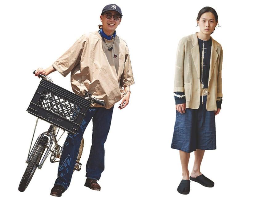 2大服バカ! 人気美容師がこの夏着たいTシャツや古着は? おしゃれコーデ3選×2