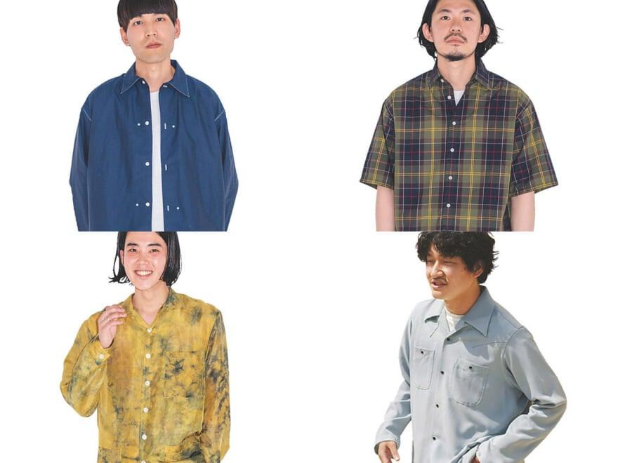 夏のシャツは涼しげトーンで着るのが正解! シャツが主役の着こなしスナップ4選