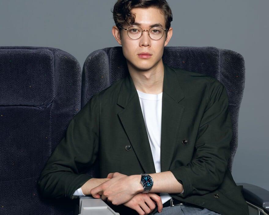 手もとにグローバルなアイデアを 新時代の腕時計。ワイアード「TOKYO SORA」
