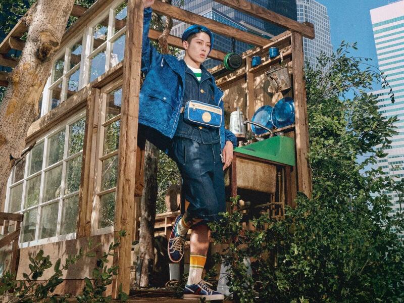 日本限定色はブルー!「グッチ」からサステナブルコレクションが発売