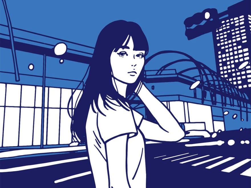 女性ポートレートで話題、美術家KYNEのエキシビションが渋谷の新名所で開催!