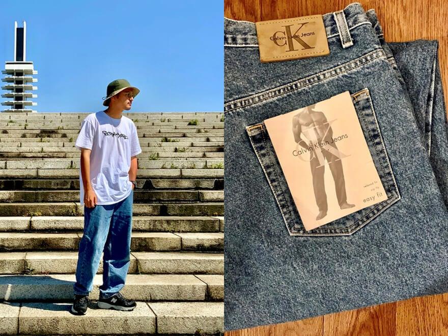【おしゃれ男子の古着愛!】90年代のカルバン・クライン ジーンズがコーデしやすい
