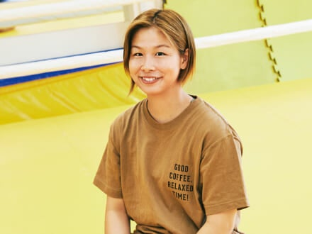 総合格闘技イベントRIZINの人気ファイター、浅倉カンナ。「追い込まれてからが本当の勝負!」