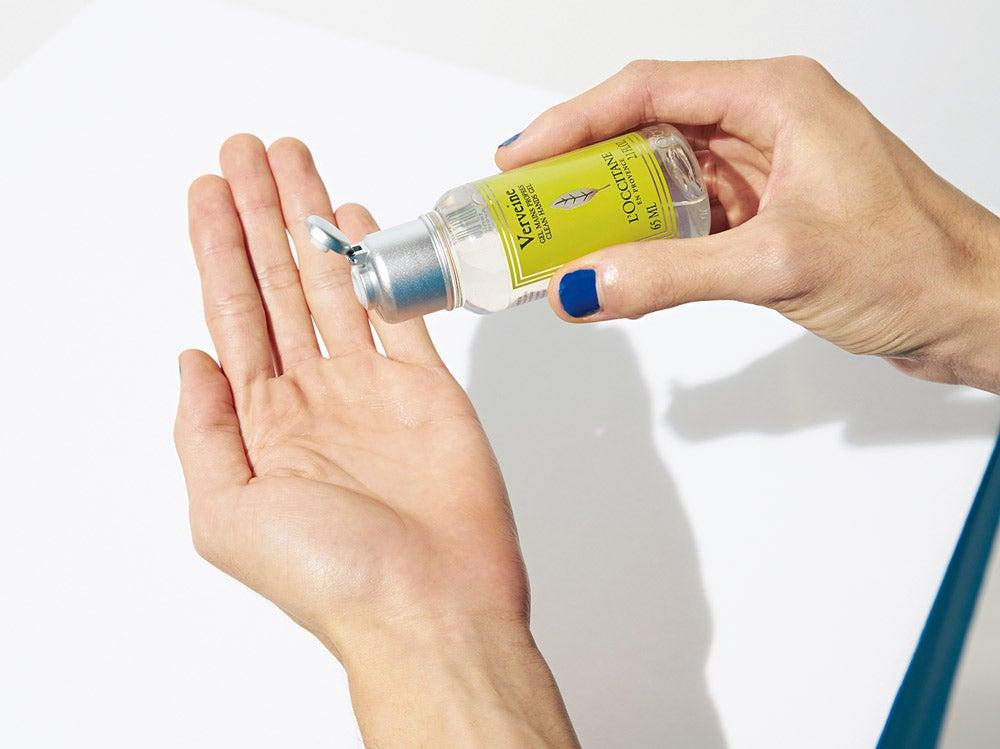ロクシタンのハンドジェルなら、しっかり消毒できてハーブの香りで気分もアップ