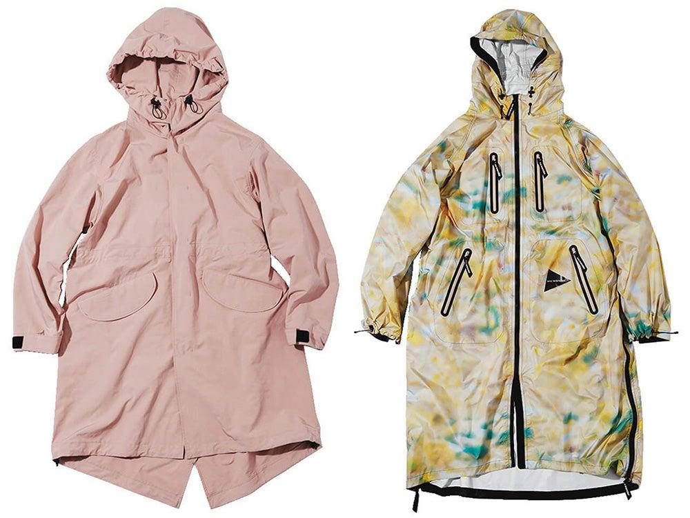雨の日もオシャレに快適に! グッドデザインのレインアウター5選