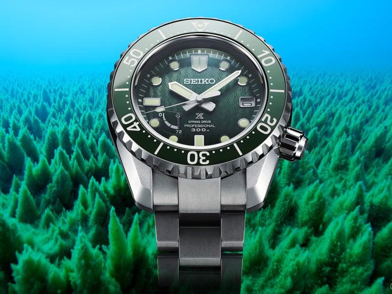 神秘的な緑! セイコー プロスペックスから限定500本の高機能時計を発売