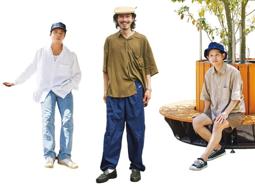 ファッションは友を呼ぶ! おしゃれな人のおしゃれな友達リレー・スナップ【前編】
