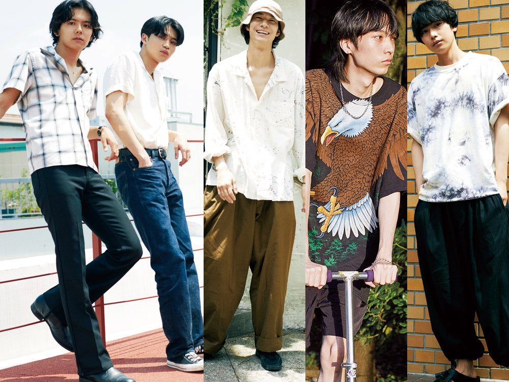 清原 翔、中田圭祐、井上翔太も登場! メンズノンノモデルが夏服を語る動画第2弾